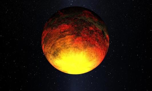 Экзопланета Kepler-10b глазами художника. Иллюстрация NASA/Kepler Mission/Dana Berry