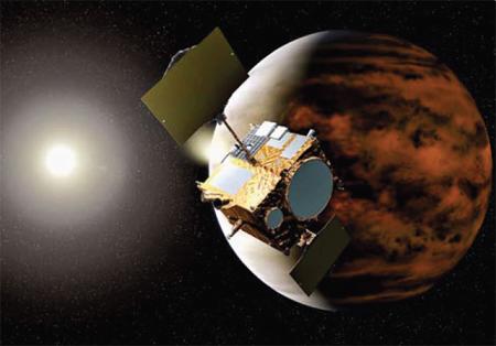 Космический аппарат «Акацуки» прибыл к Венере