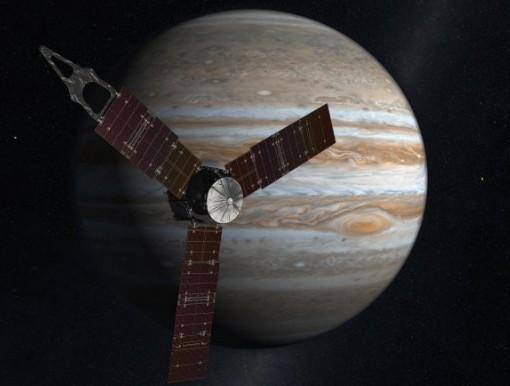 Аппарат Juno. Иллюстрация NASA
