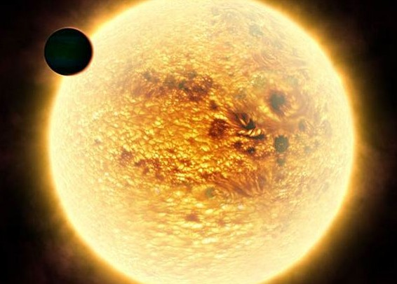 WASP-12b. Иллюстрация ESA/NASA/Frederic Pont, Geneva University Observatory