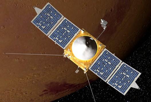 Аппарат Maven. Иллюстрация NASA