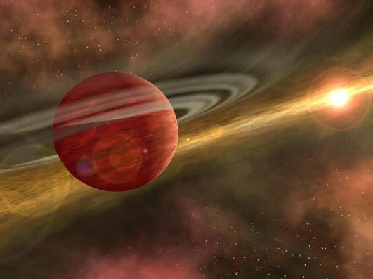 Coku Tau 4. Иллюстрация NASA