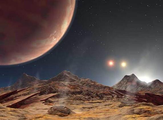 HD 188753 Ab. Иллюстрация NASA/JPL's Planetquest/Caltech