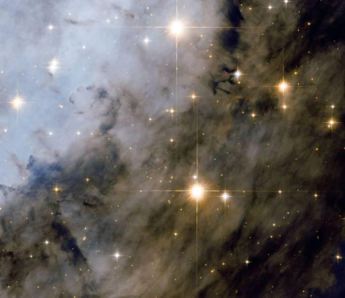 Молодые звезды в туманности Орла. Фото ESA/Hubble & NASA