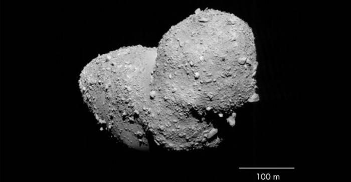 Астероид Итокава. Фото:JAXA.
