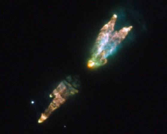 Протопланетарная туманность PK166-06. Фото ESA / Hubble & NASA