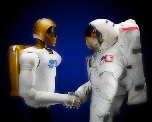Robonaut 2. Иллюстрация NASA.