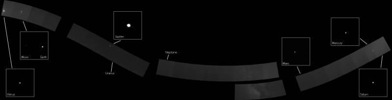 «Семейный портрет» Солнечной системы от «Мессенджера» CVAVR AVR CodeVision cvavr.ru