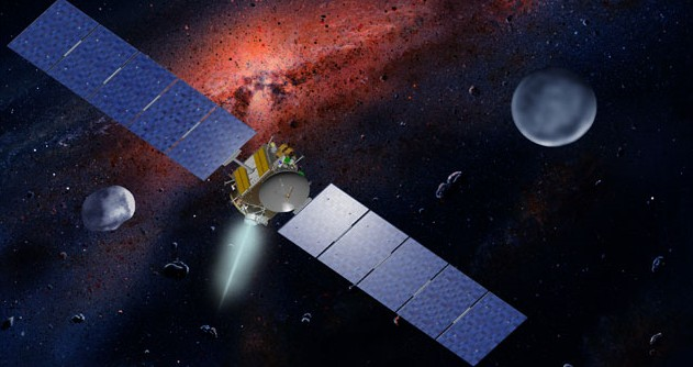Аппарат Dawn. Иллюстрация NASA/JPL