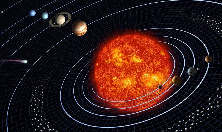 Солнечная система. Иллюстрация NASA