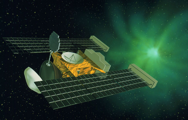 Аппарат Stardust. Иллюстрация NASA