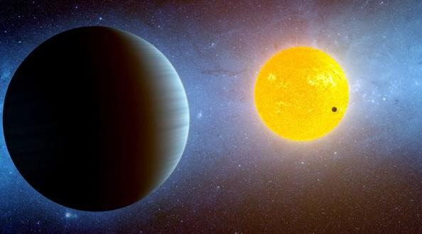 Экзопланета Kepler-10 c глазами художника. Иллюстрация NASA/Ames/JPL-Caltech