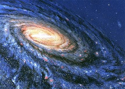 Млечный Путь. Иллюстрация Science Photo Library