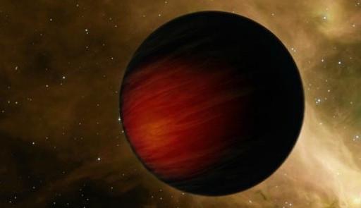 Одинокая планета в пространстве. Иллюстрация NASA/JPL-CalTech
