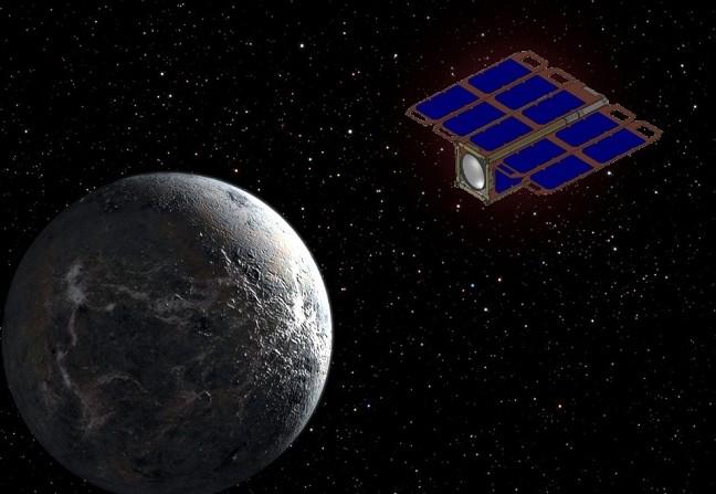 Миниатюрный охотник за экзопланетами ExoPlanetSat. Иллюстрация NASA/MIT/IWL