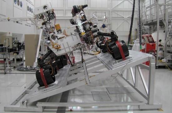 Марсоход нового поколения Curiosity