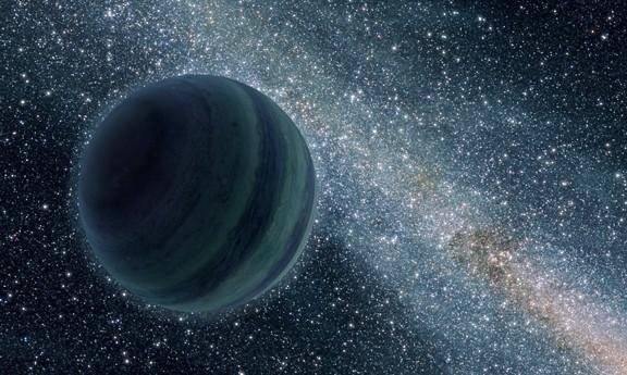 «Блуждающая планета» глазами художника. Иллюстрация NASA / JPL-Caltech