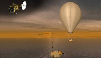 Концепция аппарата Titan Mare Explorer (TiME). Иллюстрация NASA