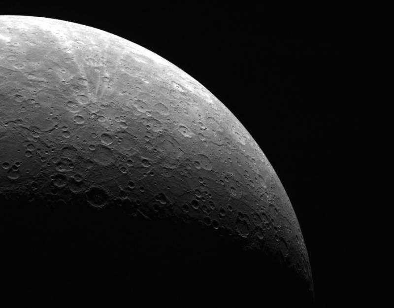 Южный полюс Меркурия