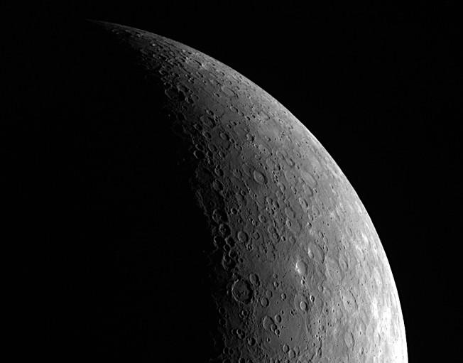 Меркурий. Фото NASA/Johns Hopkins University Applied Physics Laboratory/Carnegie Institution of Washington.