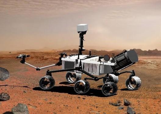 Марсоход «Curiosity». Иллюстрация NASA