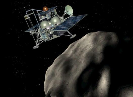 Российская АМС «Фобос-Грунт» стартует 5 ноября 2011 года