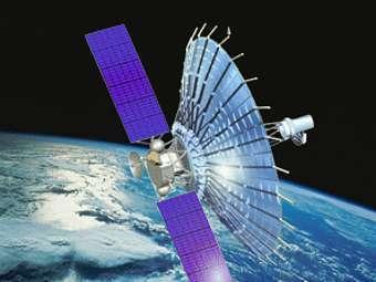 Астрофизической лаборатории «РадиоАстрон». Иллюстрация НПО имени Лавочкина