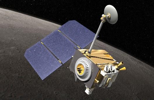 Зонд LRO. Иллюстрация NASA