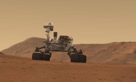 Марсоход Curiosity. Кадр из фильма