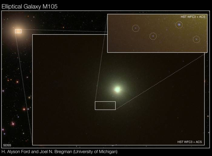 Древние эллиптические галактики способны производить звездное потомство