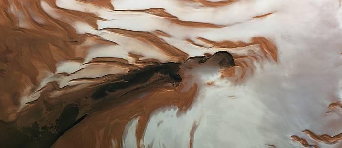 Северный полюс Марса . Фото ESA/Mars Express