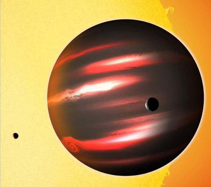 Экзопланета TrES-2b является самой темной из всех планет