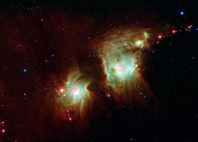 Туманность M78. Фото NASA / JPL-Caltech