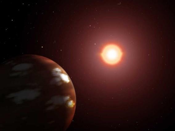Экзопланета глазами художника. Иллюстрация NASA