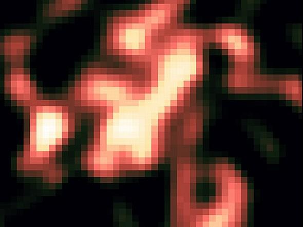 Всполохи гамма-излучения в Лебедь X, указывающие на космические лучи.Фото NASA/DOE/Fermi LAT/I. Grenier/L. Tibaldo