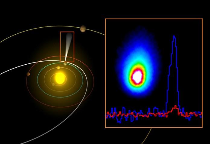 В комете Хартли-2 обнаружена земная вода
