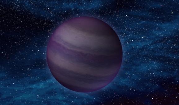 Коричневый карлик глазами художника. Иллюстрация NASA / JPL-Caltech