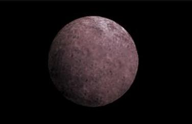 2007 OR10 глазами художника. Иллюстрация NASA