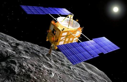 Зонд «Хаябуса». Иллюстрация NASA