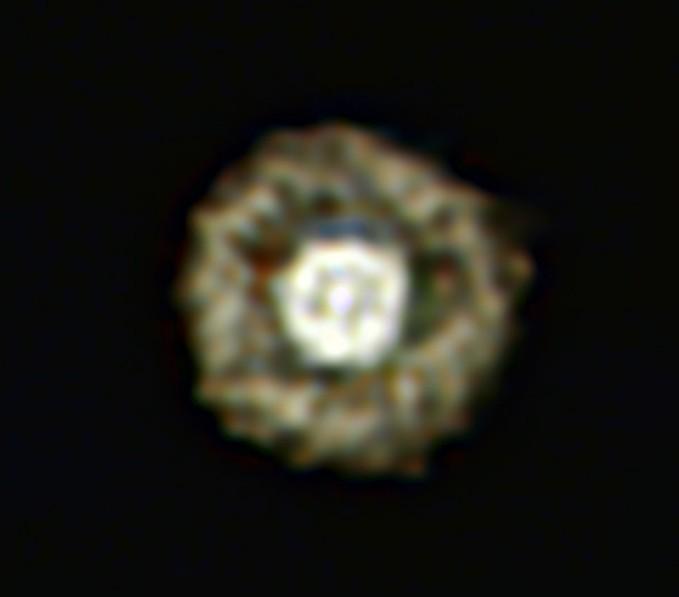 Туманность Глазунья. Фото ESO/E. Lagadec