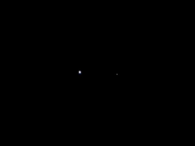 Земля и Луна глазами космического аппарата «Juno». Фото NASA/JPL-Caltech