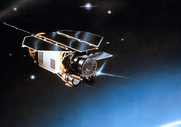 Телескоп ROSAT. Иллюстрация NASA.