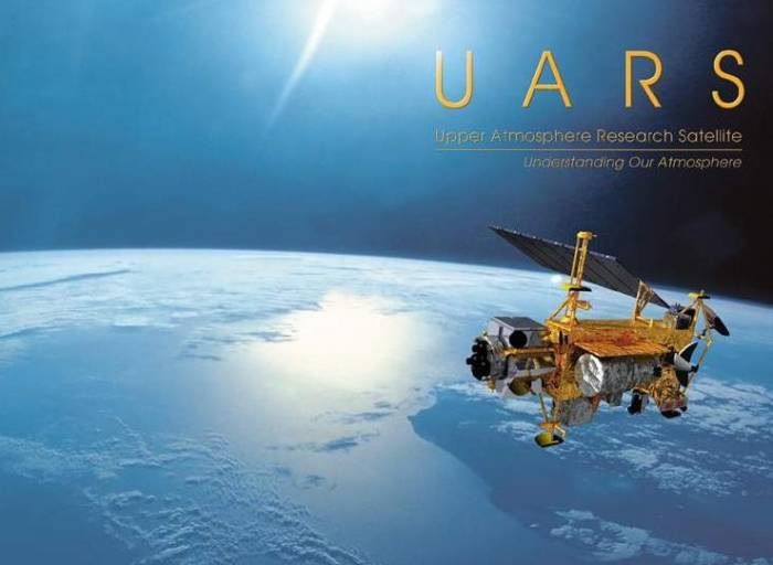 Спутник UARS. Иллюстрация NASA