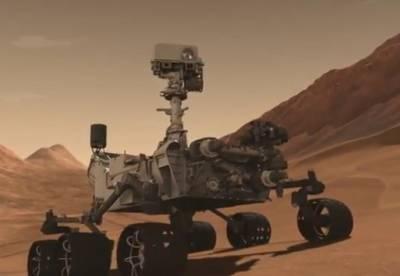 Марсоход Curiosity. Фото NASA