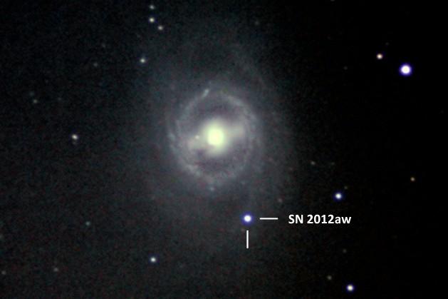 Сверхновая SN 2012aw