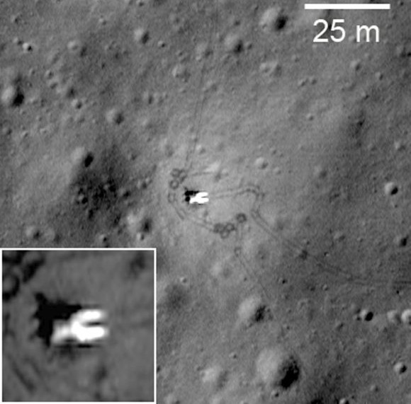 «Луноход-1» Фото NASA/GSFC/Arizona State University