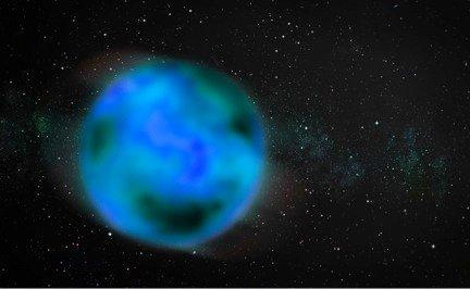 Блуждающая планета. Иллюстрация Greg Stewart / SLAC National Accelerator Laboratory