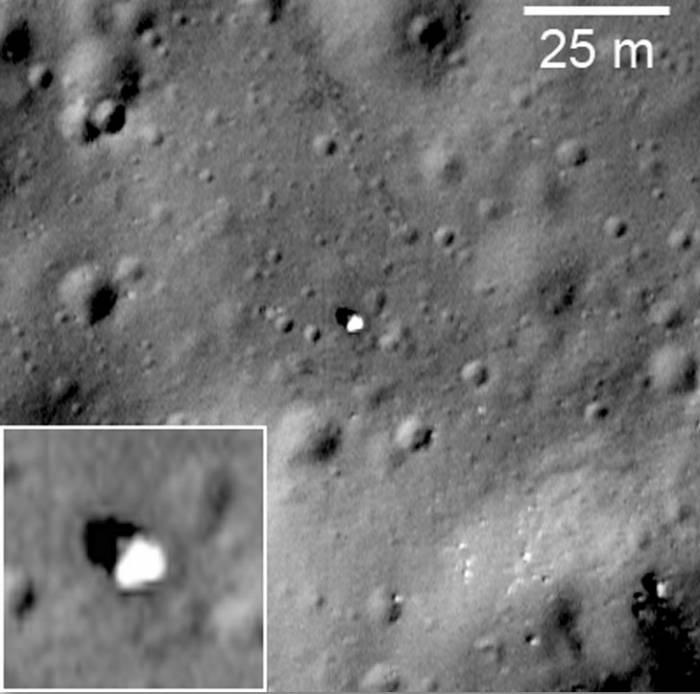 «Луна-17». Фото NASA/GSFC/Arizona State University