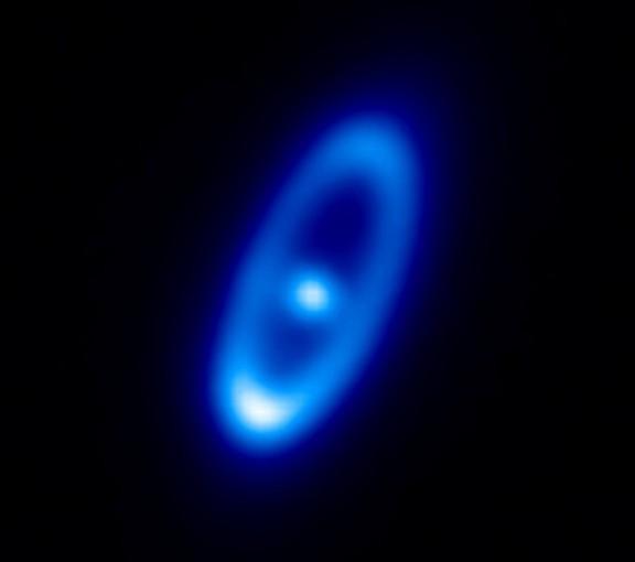Система Фомальгаут в видении космического инфракрасного телескопа «Гершель»