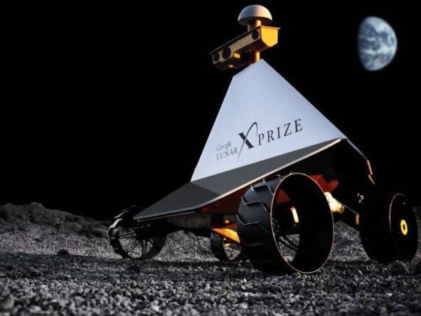 Частный луноход «Polaris». Иллюстрация Astrobotic Technology